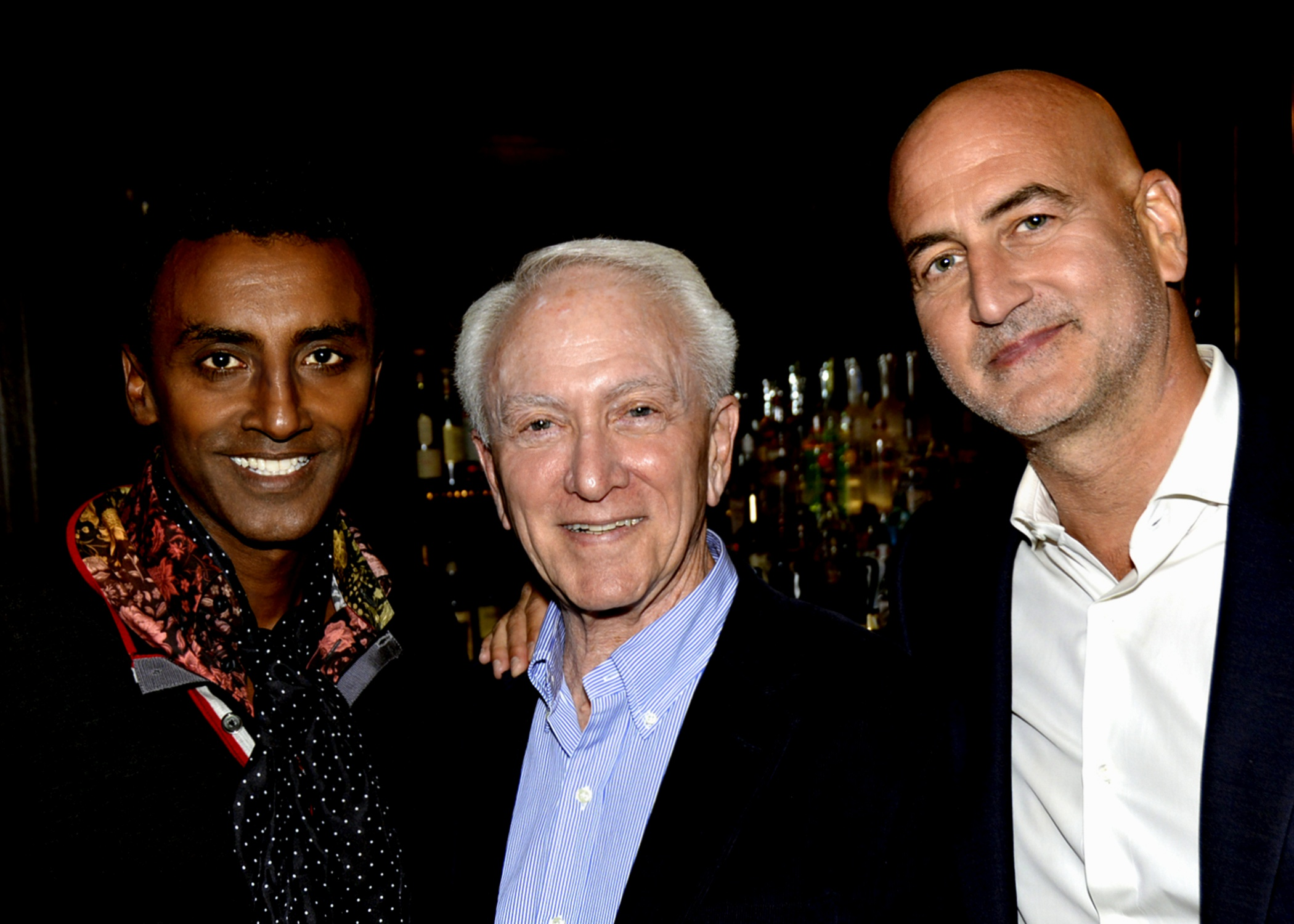 Marcus Samuelsson, Richard Grausman, Mark Weiss