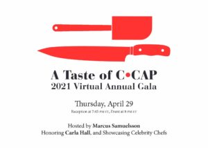 A Taste of C-CAP 2021 Virtual Annual Gala Header
